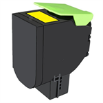 Lexmark 70C2XYE (702XY) Toner yellow, 4K pages