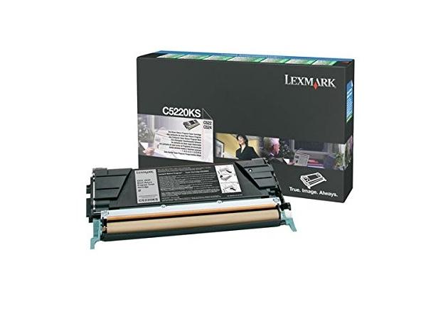 Lexmark C5220KS cartucho de tóner Original Negro 1 pieza(s)