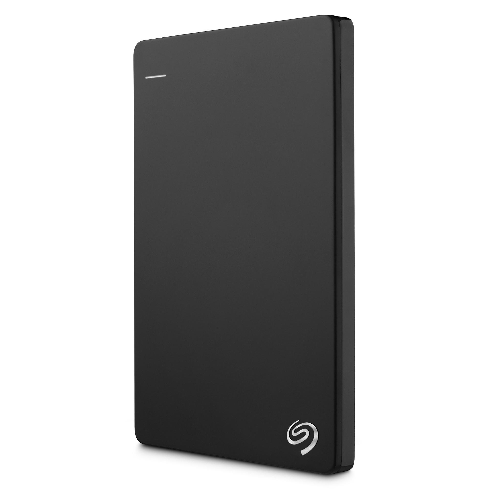 Seagate Backup Plus Slim, 500GB, Black