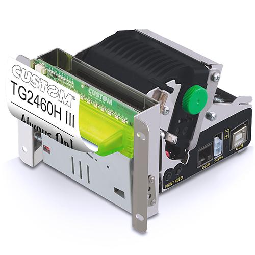 CUSTOM TG2460HIII Térmico Impresora de recibos 203 x 203 DPI Alámbrico