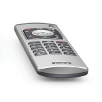 Yealink VCR11 remote control Black,Silver Press buttons