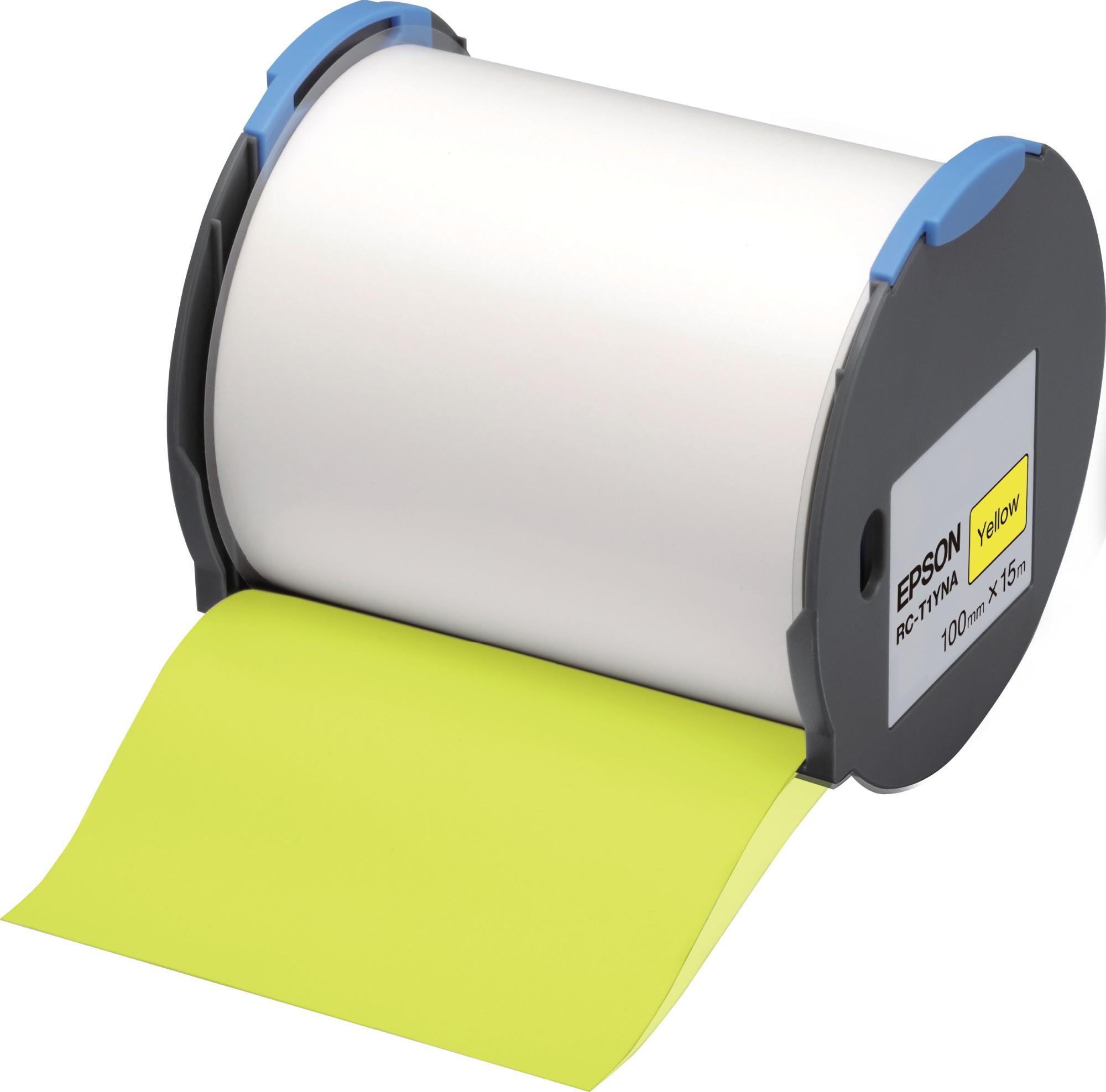 Epson Cinta RC-T1YNA amarilla 100 mm