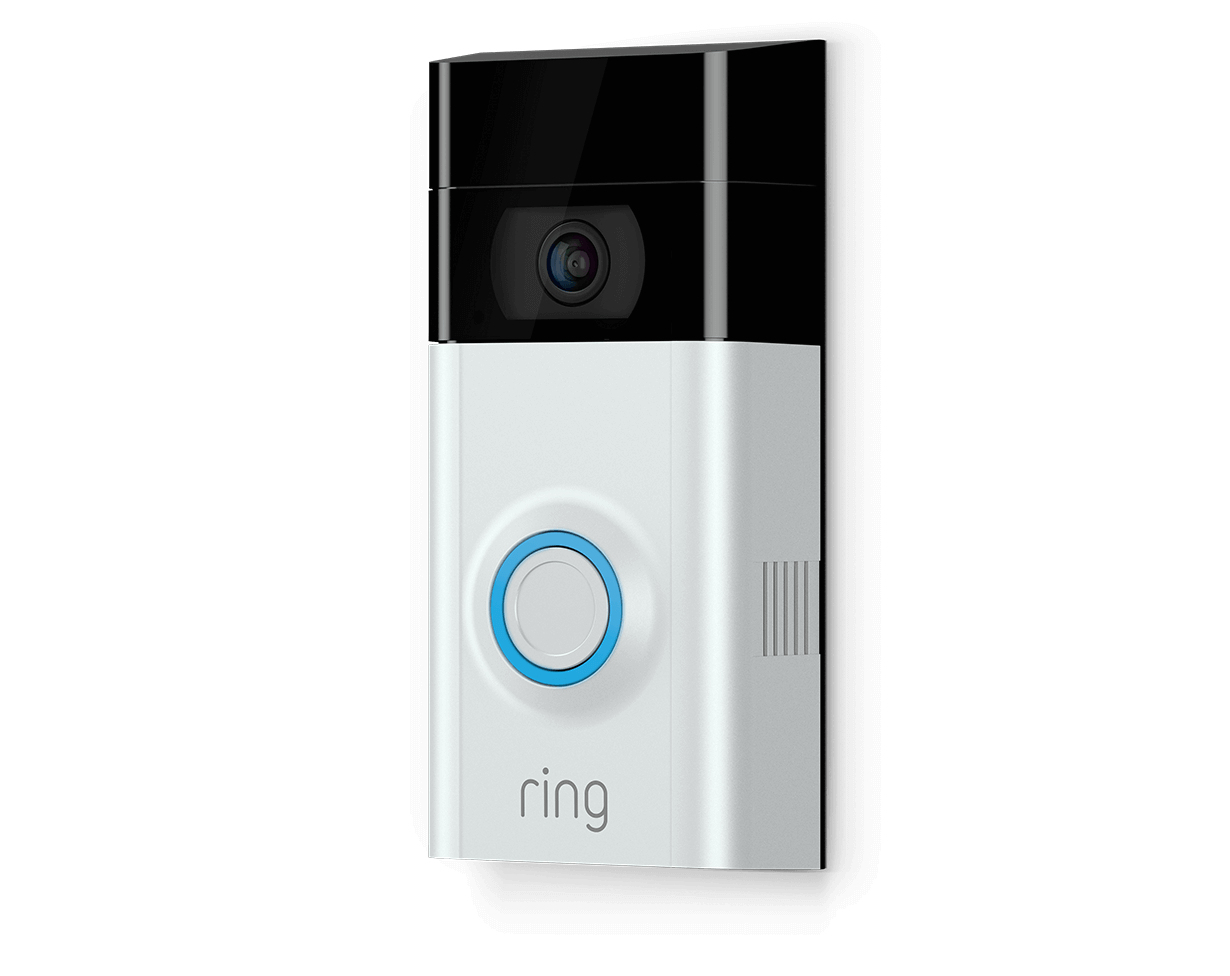Ring Video Doorbell 2  1080p HD Video, Two-Way Talk, Motion Detection, Wi-Fi Connected