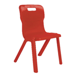 Titan 1 Piece 350mm Pack 10 RED