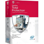 McAfee Total Protection 2015 Full license 1user(s) 1year(s) English
