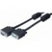 Hypertec 119780-HY VGA cable 0.5 m VGA (D-Sub) Black