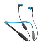 JLab Audio GEBPLAYRBLKBLU84 Headphones In-ear, Neck-band Black, Blue IEUGEBPLAYRBLKBLU84