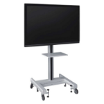 "Sapphire STRVE1 flat panel floorstand Portable flat panel floor stand Grey 165.1 cm (65"")"