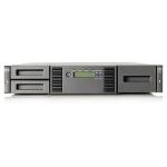 Hewlett Packard Enterprise StoreEver MSL2024 2 LTO-6 Ultrium 6250 SAS Tape Library 72000GB 2U tape auto loader/library