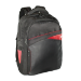 "V7 Edge Laptop Backpack 17.3"" black / red"