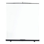 Metroplan Budget Floor Screen Black,White projection screen