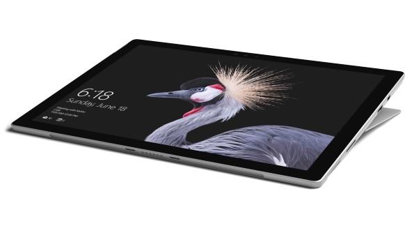 Microsoft Surface Pro tablet Intel Core i5 256 GB Zwart, Zilver