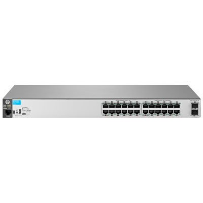 Hewlett Packard Enterprise 2530-24G-2SFP+ Managed L2 Gigabit Ethernet (10/100/1000) Stainless steel