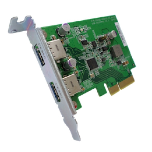 QNAP USB-U31A2P01 interface cards/adapter USB 3.1 Internal