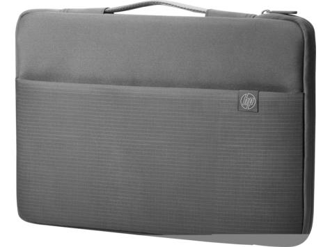 "HP Carry Sleeve 39.6 cm (15.6"") Sleeve case Black, Grey"