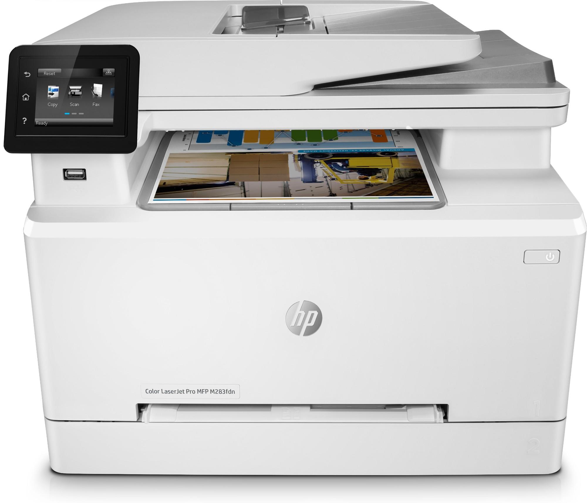 HP Color LaserJet Pro M283fdn Laser 600 x 600 DPI 22 ppm A4