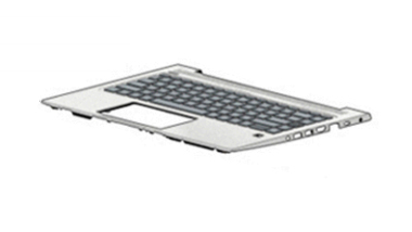 HP L44588-061 notebook spare part Keyboard