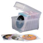 Kensington CD Box and Sleeves - Capacity 60
