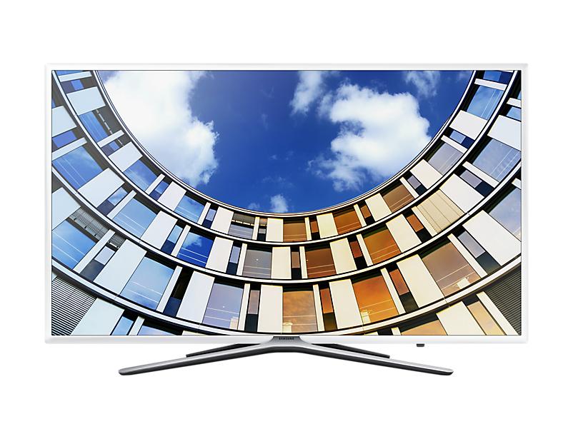 "Samsung UE49M5510AK 49"" Full HD Smart TV Wi-Fi White LED TV"