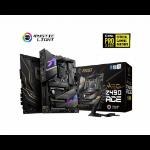 MSI MEG Z490 ACE Motherboard 'ATX, LGA1200, DDR4, Dual LAN, 802.11ax WiFi 6 + Bluetooth 5.1, USB 3.2 Gen2, Lightning USB 20G, Type C, M.2, RGB Mystic Light, Gen 4 Ready, 10th Gen Intel Core'