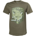 METAL GEAR SOLID Men's Fox Hound Special Forces Group T-Shirt, Small, Beige (TS240007MGS-S)