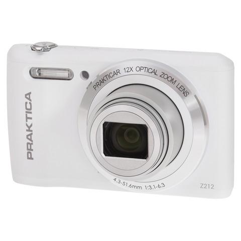 "Praktica Luxmedia Z212 20MP 1/2.3"" CCD 5152 x 3864pixels Compact camera 20MP 1/2.3"" CCD 5152 x 3864pixels White"