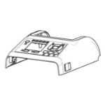 Zebra P1080383-427 printer/scanner spare part Cover 1 pc(s)