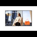 "LG 43UH5F signage display 109.2 cm (43"") IPS 4K Ultra HD Digital signage flat panel Black Web OS"