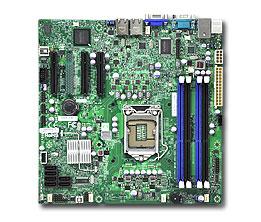 Motherboard X9scl-f C202 DDR3 UATX 2x Gbe 6x SATA Vga Bulk