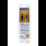 Belkin F3U155CP1.8M USB cable 1.8 m 2.0 USB A Mini-USB B Black