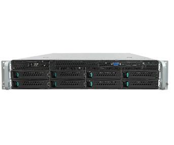Intel R2308GZ4GC LGA 2011 (Socket R) 2U Black, Metallic server barebone