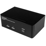 StarTech.com 2-Port DisplayPort Dual-Monitor KVM Switch - 4K 60Hz