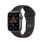 Apple Watch SE OLED 40 mm Gris GPS (satélite)