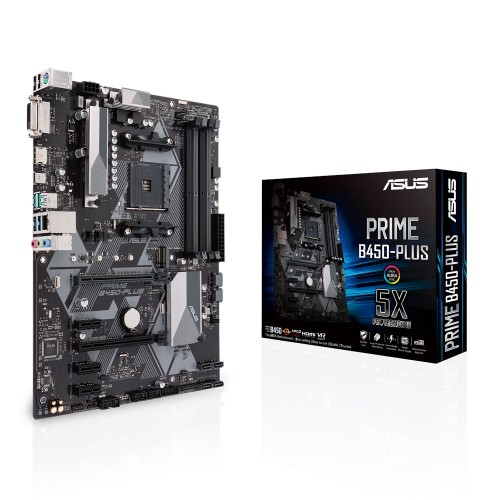 ASUS PRIME B450-PLUS Socket AM4 ATX AMD B450
