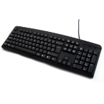 Accuratus PS/2 Slim Keyboard PS/2 QWERTY English Black