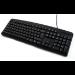 Accuratus PS/2 Slim keyboard PS/2 QWERTY English Black