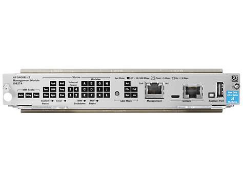 Hewlett Packard Enterprise 5400R zl2 Management Module network switch module