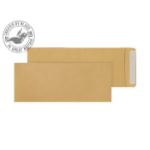Blake Purely Everyday Manilla Peel and Seal Pocket 381x152mm 115gsm (Pack 500)
