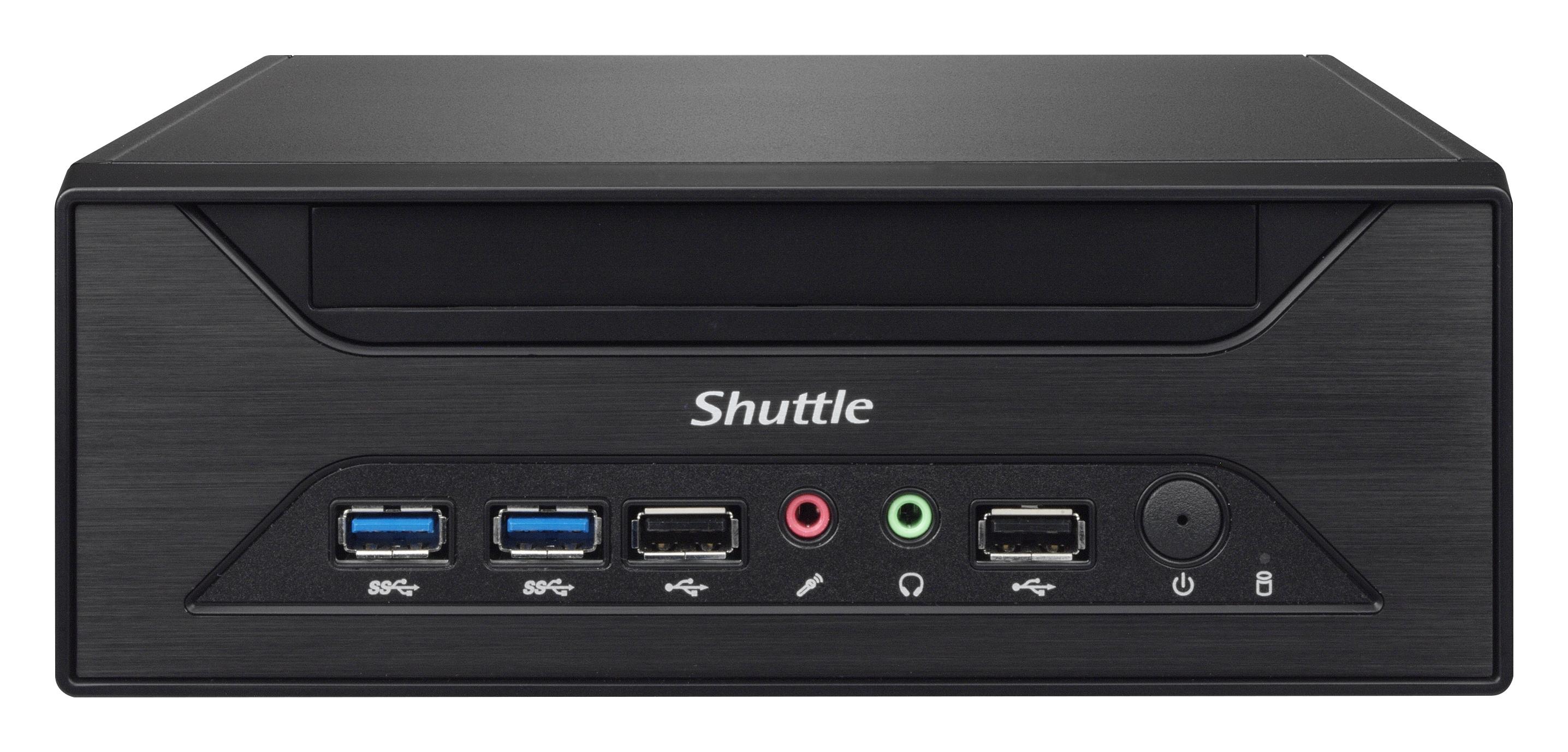 Shuttle XH81 Intel H81 Socket H3 (LGA 1150) Black barebone