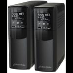PowerWalker VI 600 CSW uninterruptible power supply (UPS) Line-Interactive 600 VA 360 W 4 AC outlet(s)