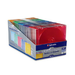 Verbatim CD/DVD Slim cases tape array