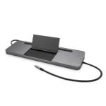 i-tec Metal USB-C Ergonomic 4K 3x Display Docking Station + Power Delivery 85 W