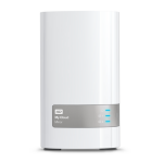 Western Digital My Cloud Mirror 4TB Ethernet LAN White personal cloud storage deviceZZZZZ], WDBWVZ0040JWT-EESN