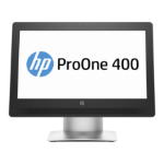 "HP ProOne 400 G2 3.2GHz i5-6500 20"" 1600 x 900pixels Black,Silver"
