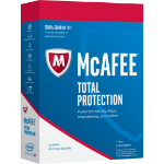 McAfee Total Protection 2018, 10 PC 10 license(s)