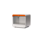 Griffin MultiDock 10 Bays Tablet Multimedia cart Orange,White