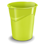 CEP Gloss 14L Round Polypropylene (PP) Green waste basket