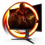"AOC G2 C27G2ZU/BK computer monitor 68.6 cm (27"") 1920 x 1080 pixels Full HD LED Black, Red"