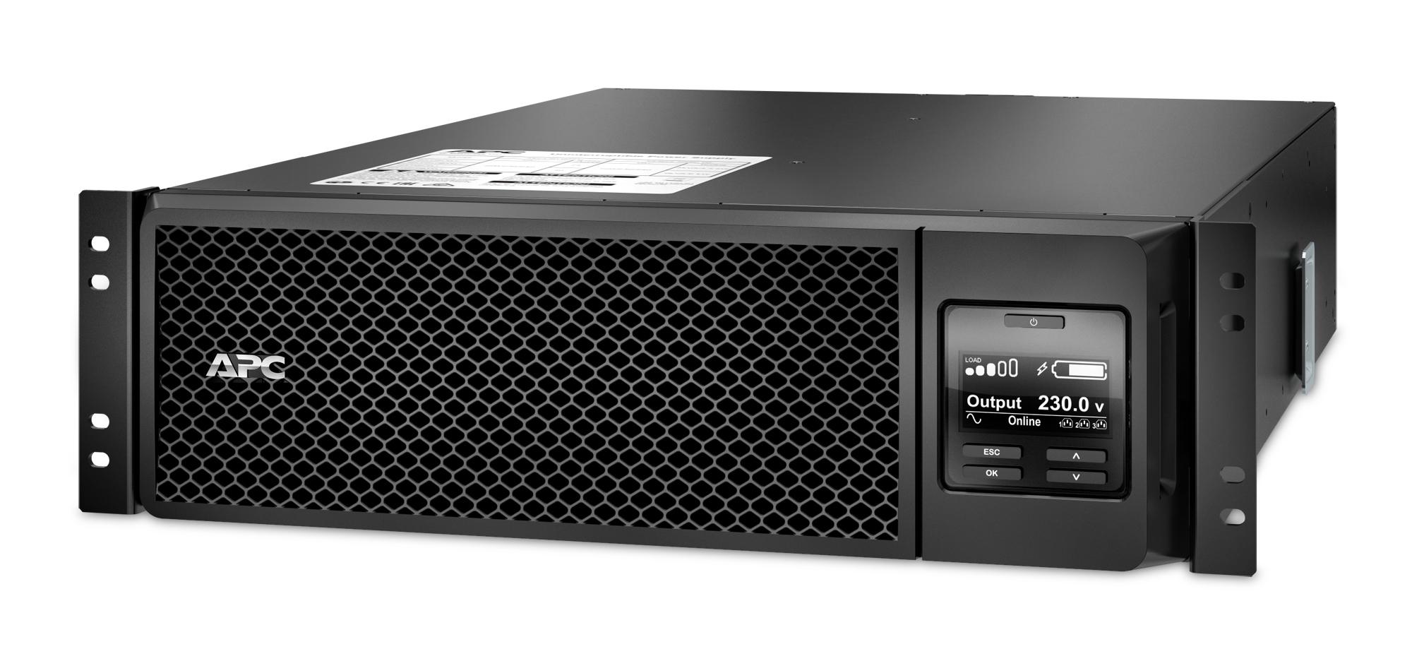 APC Smart-UPS On-Line sistema de alimentación ininterrumpida (UPS) Doble conversión (en línea) 5000 VA 4500 W 10 salidas AC