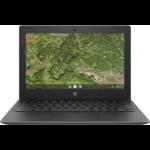 "HP Chromebook 11A G8 EE DDR4-SDRAM 29,5 cm (11.6"") 1366 x 768 Pixels Touchscreen 7th Generation AMD A4-Series APUs 4 GB 32 GB eMMC Wi-Fi 5 (802.11ac) Chrome OS Grijs"